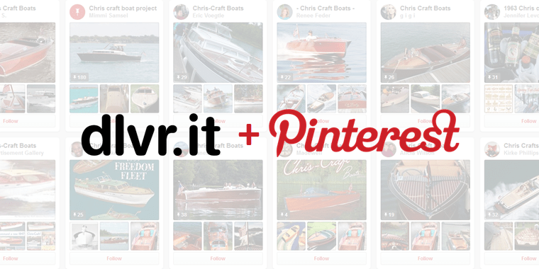 Pinterest for business time saving tool: RSS to Pinterest with dlvr.it