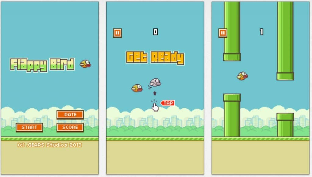 Image of Flappy Bird App